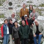 Gruppenfoto am Fuße der Drei Zinnen (Foto: Ing. Helmut Schwarz)