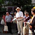 Peter Rogosch begrüßt uns in Ulm