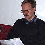 Helmut beim Kassabericht