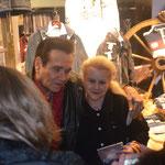 Ted mit Mona Noortwyck