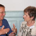 Helga Becker-Bickerich und Julia Vermes