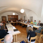 Die Jahresversammlung im Klostergebäude