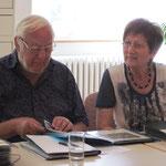 Hartmut Polenz mit Julia Vermess