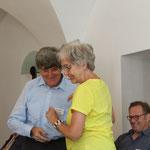 Die Verabschiedung von Marianne Kalt aus dem Vorstand