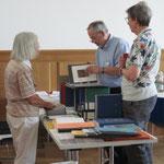 Elisabeth Anliker, Wolfgang Hönle und Anna Stiefel