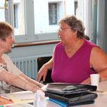 Julia Vermes und Brigitte Esche