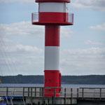Neuer Leuchtturm am Eckernförder Hafen