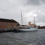 königliche Yacht in Sonderburg / Flensburger Förde