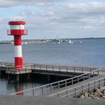 Blick über die Eckernförder Bucht vom Ostseeinformationzentrum