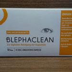 Blephaclean  Verpackung, neues Logo (Trockene Augen, Sicca Syndrom)