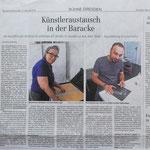 Presseartikel Dresdener neuste Nachrichten