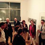 Galerienrundgang, 21.6.2015;Galerie Julian Sander