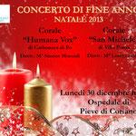 Locandina concerto a Pieve di Coriano