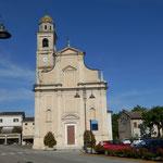La chiesa parrocchiale di Villimpenta luogo della rassegna