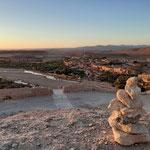 Cairn de KERNH marocain. Kasbah de Telouet. Merci à Younès