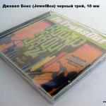 Сд Джевел Бокс  (Cd Jewel Box) черный трей