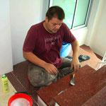 2012 – vor der Eröffnung vom Viethouse-Hotel, zwei Monate Handwerker-Pfusch und Details nacharbeiten