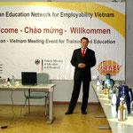 2008 - Delegationsreise nach Deutschland im Auftrag des Bundesministerium für Bildung/ Forschung und GENEV