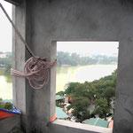 2010 – Ausblick vom zukünftigen Penthouse in der 10. Etage auf den Hoan Kiem See – Viethouse Hanoi
