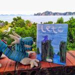 2014 – Die Lodge wird Schauplatz in einer sehr schönen Comicgeschichte über den europäischen Drachen Leto, der in das ferne Vietnam reist - Jaja Verlag - Annette Köhn