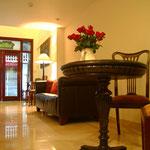 2012 – November - Blick in die Lobby vom Viethouse Hanoi – kurz vor der Eröffnung