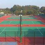 2011年11月 テニスコート完成!!