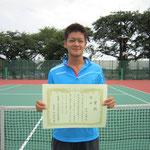 2012年 関東理工科大学個人トーナメント大会 優勝(シングルス)
