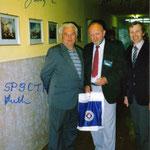 Rybnik 1991 r. Alojzy SP9CTH , Janek OK2BIQ , Antoni SP9FRZ.