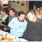 od lewej : kol.Adam , Leszek SP9WZJ , Irek SQ9JXJ  , Bogusław SQ9JJH