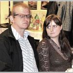 Szymon SQ9KRC oraz jego żona Marzena  SQ9MPD