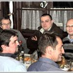 przodem od lewej : Antoni SP9FRZ , Robert , Adam SQ9S