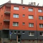 Original Foto der fertigen Fassade