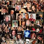 La Côte Flûte Festival (Suisse) 2014 mosaique des invités