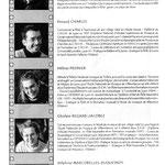 1999 Création de PentaGônes : Sophie Dufeutrelle, Renaud Charles, Hélène Pronier, Ghysmain Regard, Delphine Marcorelles