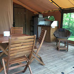 espace lodge cabane perchée
