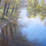 Sommerspiegelungen, 2011, 25cm x 32cm