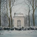 Aachen, Winter am Lousberg, 2010, 25cm x 32cm