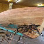 Restauration d'un Mayu Sport |Chantier naval Philippe Kolly Tannay