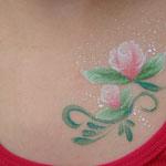Tattooschminken von den Facepainters in Hinte, Emden, Norden, Aurich, Leer & Krummhörn