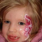 Kinderschminken von den Facepainters im DOCEmden
