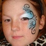 Kindersschminken von den Facepainters zu Halloween im Multi Emden