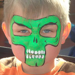 Kinderschminken von den Facepainters für Jungs