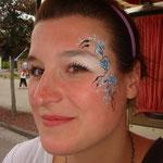 Face painting von den Facepainers auf dem STraßenfest Moordorf