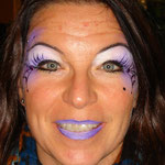 Halloween schminken von den Facepainters im DOC Emden