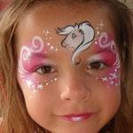 Kinderschminken der Facepainters beim Tag der offenen Tür der Emder Stadtwerke