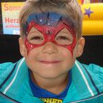 Kinderschminken von den Facepainters beim Sommerfest von Lidl Cloppenburg