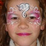 Kinderschminken von den Facepainters im Multi Emden