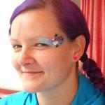 Face painting von den Facepainters für den Bürgerverein Haskamp in Hinte