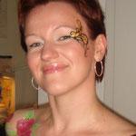 Eye-Design für eine Hochzeitsfeier von den Facepainters