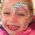 Kinderschminken von den Facepainters für die Fresena Apotheke in Hinte